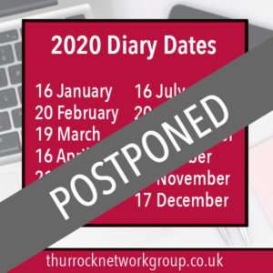 Thurrock Network Group Meetings postponed due to Covid-19